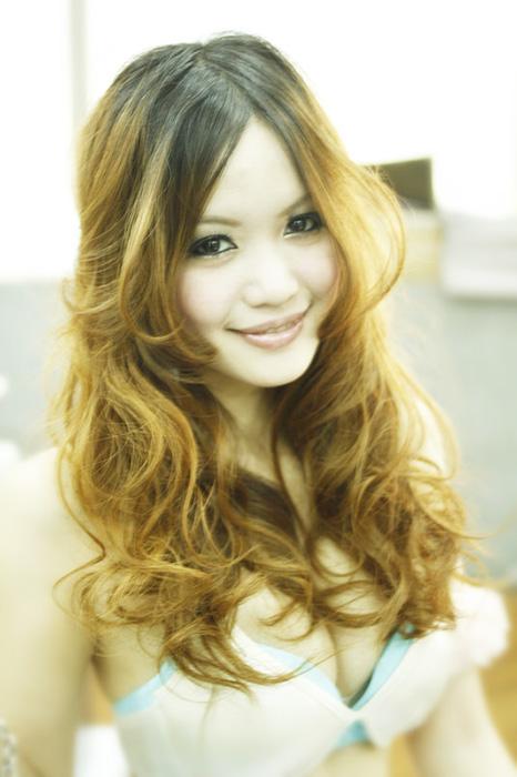 台中染髮,挑染髮色