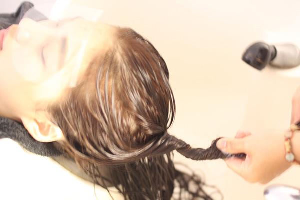 台中染髮,改善布丁頭